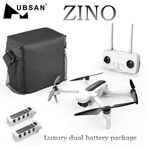 Sunnywill Hubsan Zino H117S Quadcopter Drone 4K Fotocamera GPS WiFi FPV + Batteria Doppia 3840X2160...