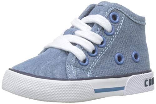 Chicco Polacchino Giramondo, Sneaker Bambino, Blu (Jeans 860), 20 EU