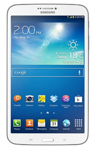 Samsung Galaxy Tab 3 SM-T311 Tablet (8-inch, WiFi, 3G, Voice Calling), White