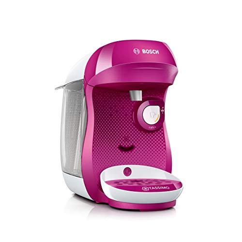 Bosch TAS1001 Tassimo Happy Cafetera Monodosis Multibebida 1400 W, 0.7 litros, Rosa