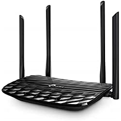 TP-Link Archer C6 AC1200 Wireless MU-MIMO Gigabit Router (Black)