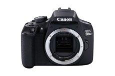 Canon EOS 1300D Cuerpo de la cámara SLR 18MP CMOS 5184 x 3456Pixeles Negro - Cámara digital (18 MP, 5184 x 3456 Pixeles, CMOS, Full HD, Negro)