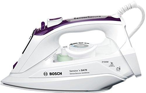 Bosch tda703121a Sensixx x DA70 SensorSecure-Ferro da stiro a vapore da 3,100 W, 200 g supervapor,...