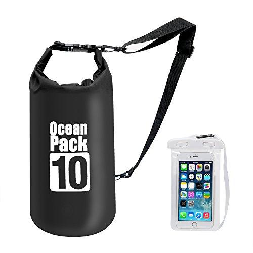 7ba7469e7c81 Premium Waterproof Dry Bag with Shoulder Strap - 10L Floating Ocean ...