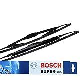 Bosch 3397001584 Twin Spoilers 584S - Limpiaparabrisas (2 unidades, 530 mm y 475 mm)