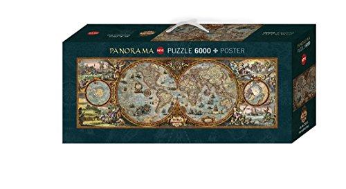 Heye VD-29615 Puzzle Panoramico Rajko Zigic Emisfero, 6000 Pezzi
