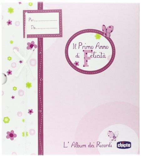 Chicco 00002310100000 Album dei Ricordi, Libro Nascita, Rosa