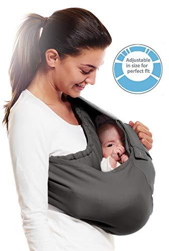 Wallaboo - Porte bébé Connection - Ergonomique de la naissance à 36 mois - Le porte-bébé sling...