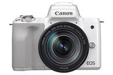 Canon EOS M50 + 18-150 mm MILC 24.1MP CMOS 6000 x 4000Pixeles Blanco - Cámara digital (24,1 MP, 6000 x 4000 Pixeles, CMOS, 4K Ultra HD, Pantalla táctil, Blanco)