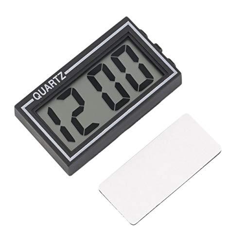 EdBerk74 TS-CD92 - Piccolo orologio digitale LCD da tavolo per cruscotto auto, con data, ora,...