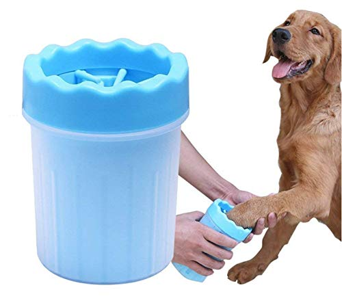 PetSutra Pet Paw Cleaner with Soft Silicone Bristles (Color May Vary)