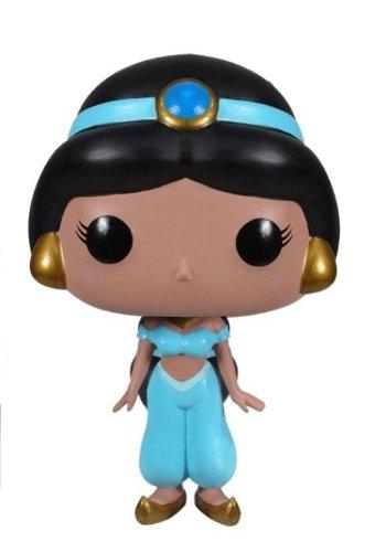 POP! Vinyl - Princesa Disney Jasmine cabezón, 10 cm (Funko FUNVPOP3195)