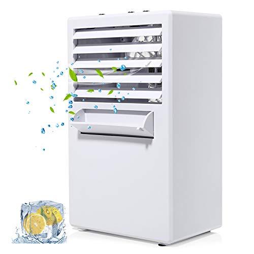 COMLIFE Aria Condizionata Portatile Climatizzatore Ventilatore da Tavolo 3 Velocità Silenziosa 3 in...