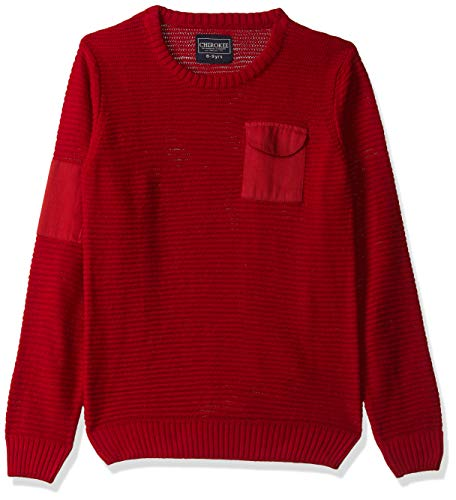 Cherokee by Unlimited Boys' Sweater (400017663692_Red_13Y)