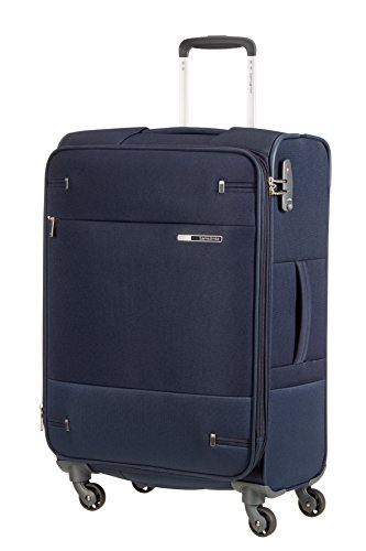 SAMSONITE Base Boost - Spinner 66/24 Expandable Bagaglio a mano, 66 cm, 67.5 liters, Blu (Navy Blue)