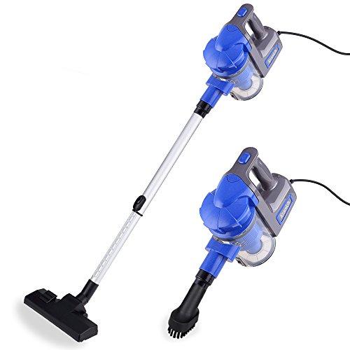 Kranich Aspiradora portatil para casa Mano y Vertical aspiradoras Manual sin Bolsa 2 en 1 Limpiador Potente 700W (3.5m)