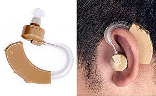 Gopendra Cyber Sonic Aid Bionic Sound Amplifier Mini Size BTE Behind Enhancer Ear Hearing Machine