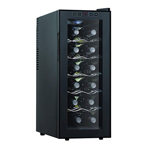 JCOCO -12 bottiglie di vino cooler - microcomputer smart wine cellar - termostato touch LED -...
