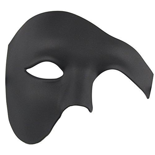 Halbes Gesicht Maskerade Maske Halloween Kostüm Phantom der Oper Maske für Männer und Frauen