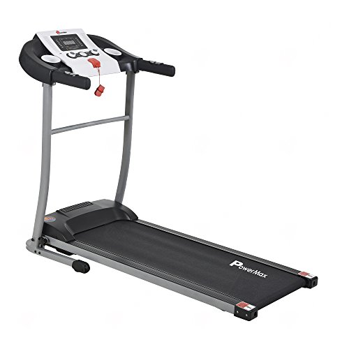 Powermax Fitness TDM-98 (1.5HP), Light Weight, Foldable Motorized Treadmill for Cardio Workout at Home