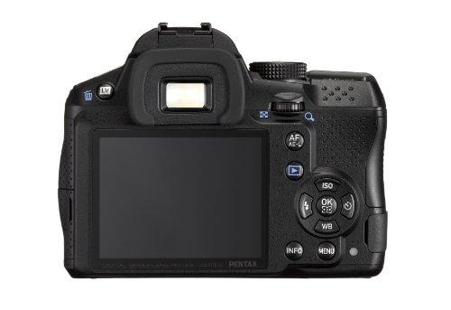 """Pentax K30 - Cuerpo cámara réflex digital de 16 Mp (pantalla de 3"""", reconocimiento facial, estabilizador de imagen), negro"""
