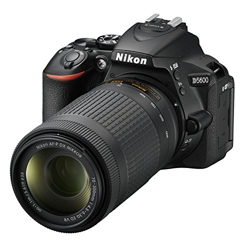 Nikon D5600 Fotocamera Reflex Digitale con Obiettivo AF-P DX NIKKOR 18-55mm VR, 24,2 Megapixel, LCD...