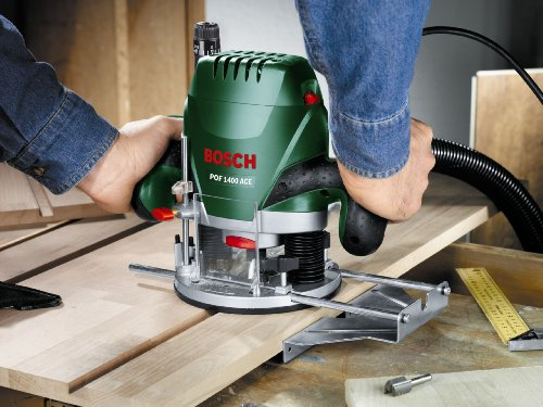 The heart of the Bosch POF1400 ACE Router is its motor which makes the cutter turn at speeds of up to 28,000 rpm. The motor is located on top of the milling confine, a sort of edge that allows the switch bit to enter the material accurately from above the most extreme stroke of 55mm.