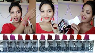 ADS Combo Balm Matte Lipstick - Set Of 12 4