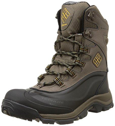 Columbiabugaboot Plus Iii Omni Heat Zapatillas de Trekking y Senderismo, para Hombre, Marrón Braun (Mud/Squash 255), Talla 43 EU/9 UK