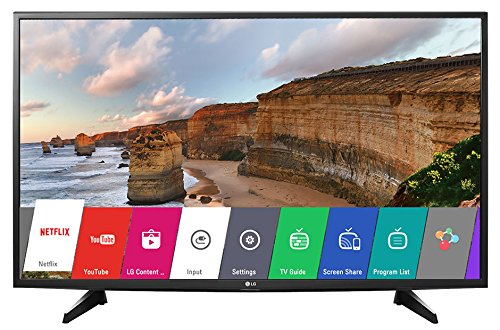 LG 43LH576T 108 cm (43 inches) Full HD Smart LED IPS TV (Black)