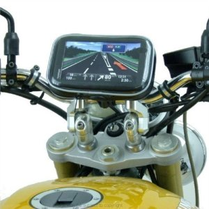 Wasserfest TomTom START 60 GPS Navi Motorrad Halterung (SKU 17357) 7