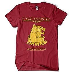 1503-Camiseta Juego De Tronos Casa Lannister