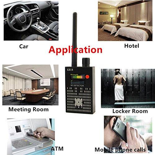 Super Camera GPS Anti-Spy Bug Signal RF détecteur, Caméra sans de très haute sensibilité GSM périphérique Finder, RF Bug Caméra espion sans ... 5