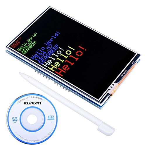 Kuman UNO-R3 3.5 TFT Touch Screen with SD Card Socket for Arduino MEGA 2560 Board Module with touch function SC3A-1