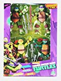 Pack de 4 personnages de TMNT - Leonardo, Donatello, Michel-Ange et Raphael Teenage