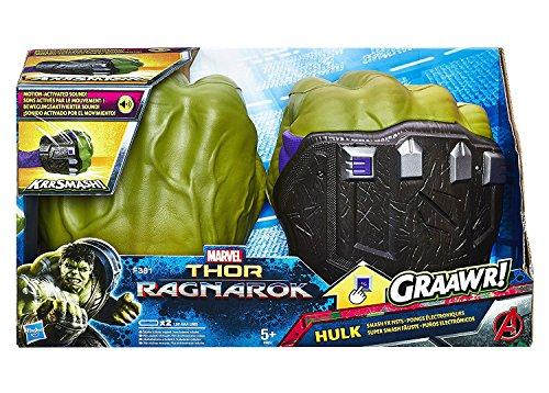 Thor: Ragnarok - Pugni di Hulk (elettronici), B9974EU4