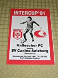 Prg. HFC Chemie - SC Casino Salzburg 29.06.1991 Intercup