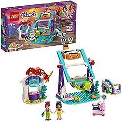 LEGO Friends - Noria Submarina Nuevo juguete de construcción de Atracción de Feria, incluye Puesto de Venta de Algodón de Azucar y 2 mini muñecas (41337)
