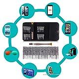 Set di cacciaviti–portatile di riparazione di apertura corredo di attrezzi per il cellulare portatile, iPhone 5, 5S, 6S, 7S, Samsung, HTC, Nokia, Laptop, MacBook Pro, Tablet, iPad, orologio, ecc. (25in 1)