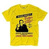 KiarenzaFD Maglietta T-Shirt Better Call Fiction Saul Serie TV Parodia