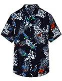 Pinkpum Funky Chemise Hawaïenne Homme Manche-Courte Hawaiian-Imprimer T2 3XL