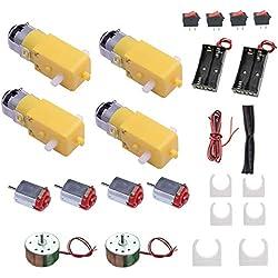 DC Motor Kits Accesorios para Robot Car Science Proyectos