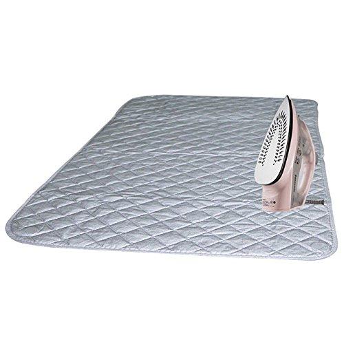 THEE Ironing Mat lavanderia Pad Lavasciuga copertura bordo resistente al calore coperta, 60x120cm