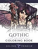 Gothic - Dark Fantasy Coloring Book: Volume 6 (Fantasy Coloring by Selina)