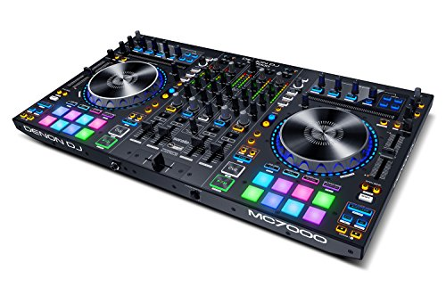 Denon DJ MC 7000 - Controller Per Serato a 4 Canali e Scheda Audio Integrata