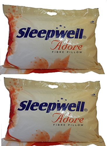 Sleepwell Adore-XL Fibre Pillow - Pack of 2