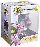 Funko - 13090 - Pop! & Buddy Vinyle - Games - Overwatch - D.Va & 6 - Meka
