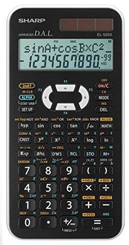 Sharp EL 520XB-WH, wissenschaftlicher Taschenrechner