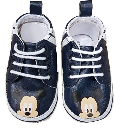 Mickey Mouse ,  Scarpe Primi Passi Bimbo 0-24, Multicolore (Multicolore), 16 EU
