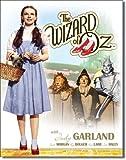 Dorothy du Magicien d'Oz/Toto Plaque en métal